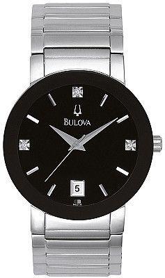 Bulova Men's Diamond Watch 96D18