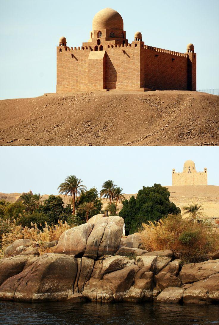 Mausoleum Of Agha Khan Iii  On The Nile In Aswan, Egypt He Is