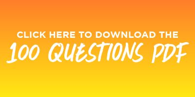 100 questions to discover yourself — some thought-provoking, some less so — to prompt you to think about who you are and what matters to you.