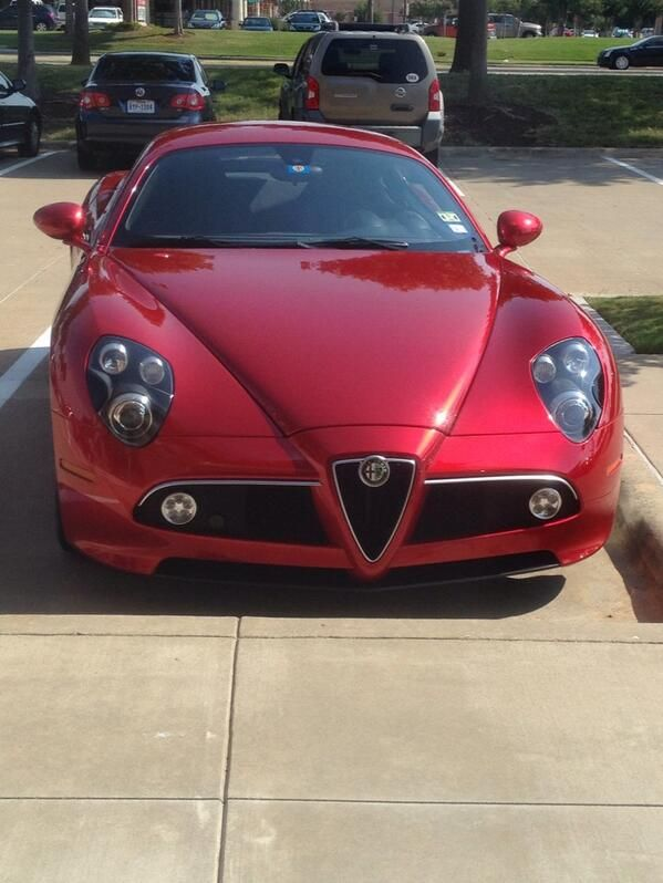 Alfa Romeo cars are sick af #alfaromeo