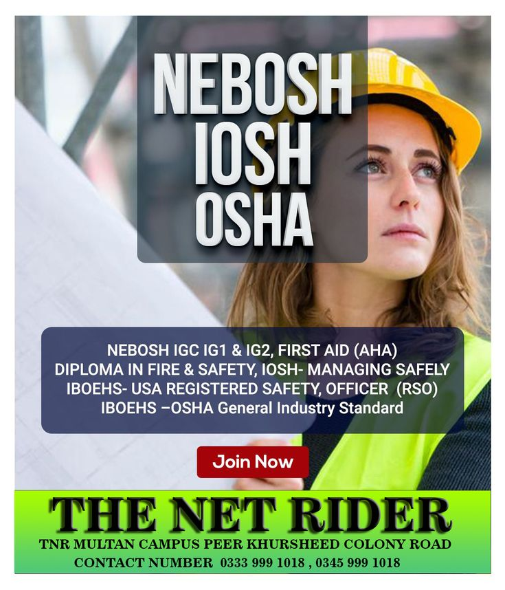 NEBOSH HSW Health and safety, Safety courses, Workplace