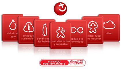 Viviendo positivamente, Coca-Cola