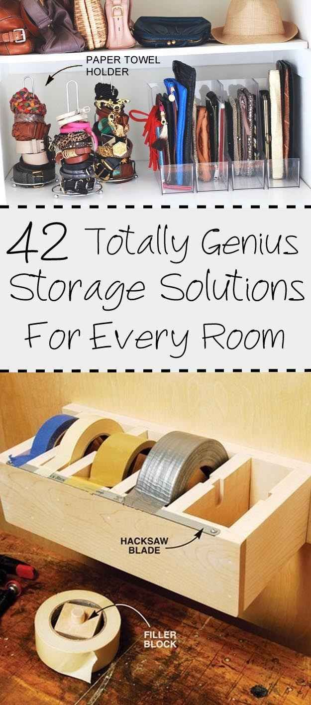 42 Utterly Genius Storage Solutions For Every Room Of The House
