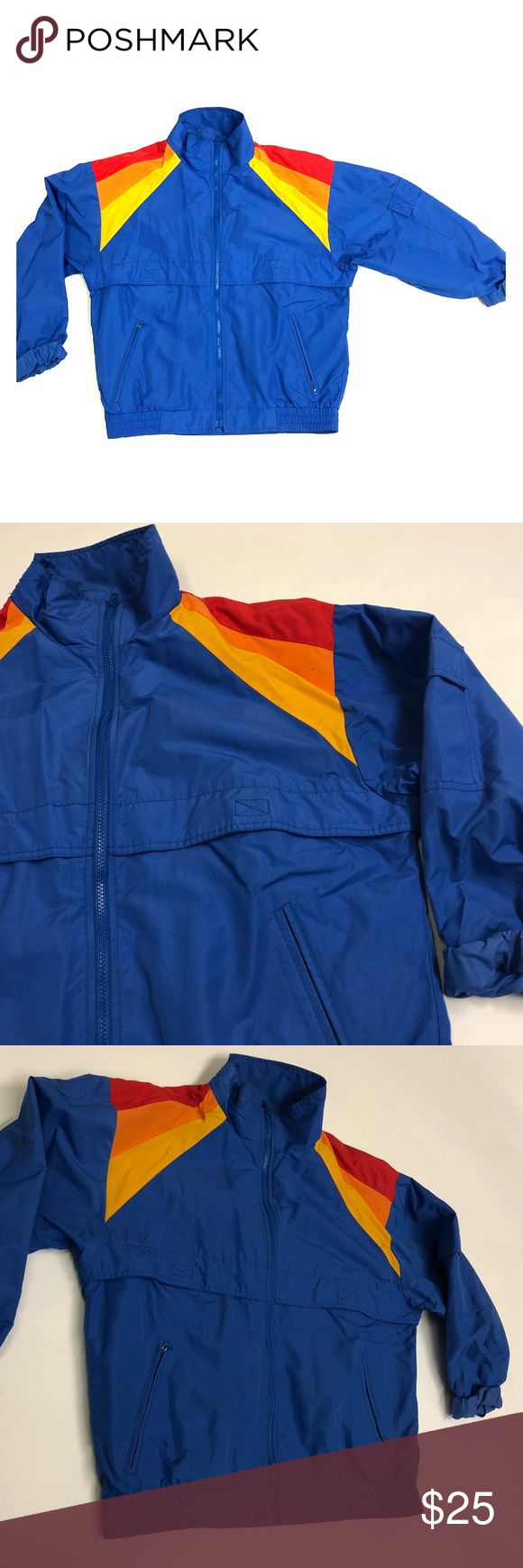 Retro Bomber Jacket  🖤 OFFERS ACCEPTED 🖤 NYLON material  Old school bomber type jacket  Multiple pockets Zippered pockets  Men's Large Hobie Jackets & Coats
