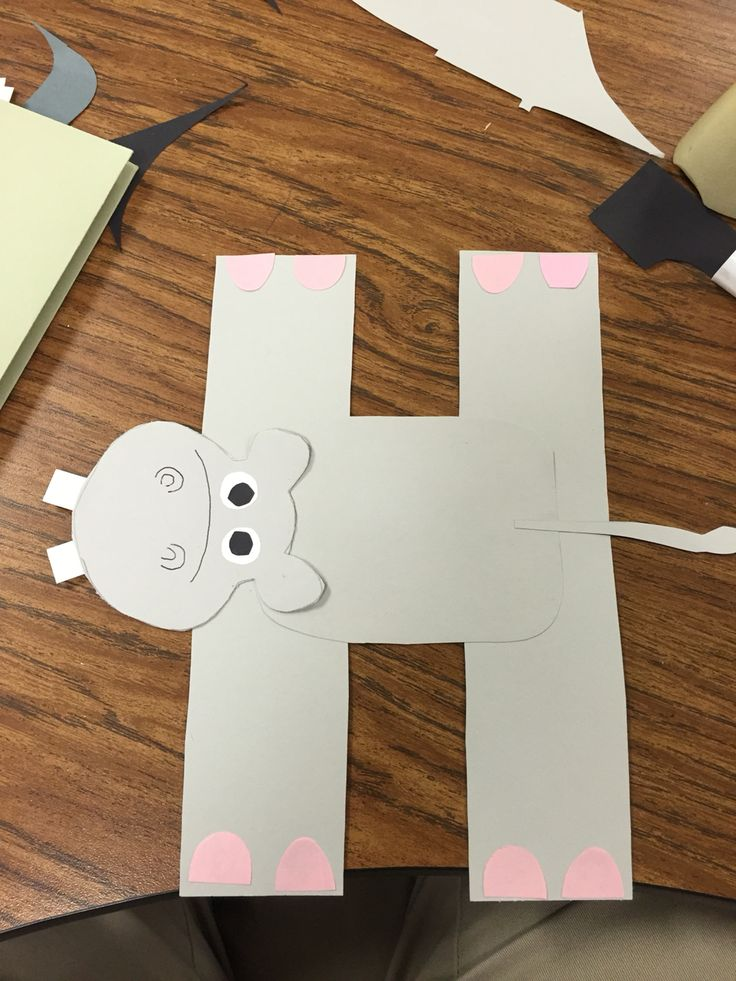 letter h crafts for preschoolers best 25 hippo crafts ideas on valentines 11684