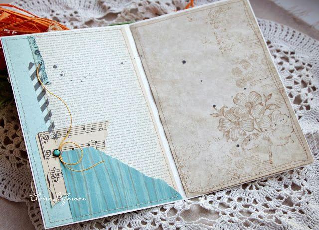 Оформление внутри открытки скрапбукинг, иллюстрациями билибина красивые