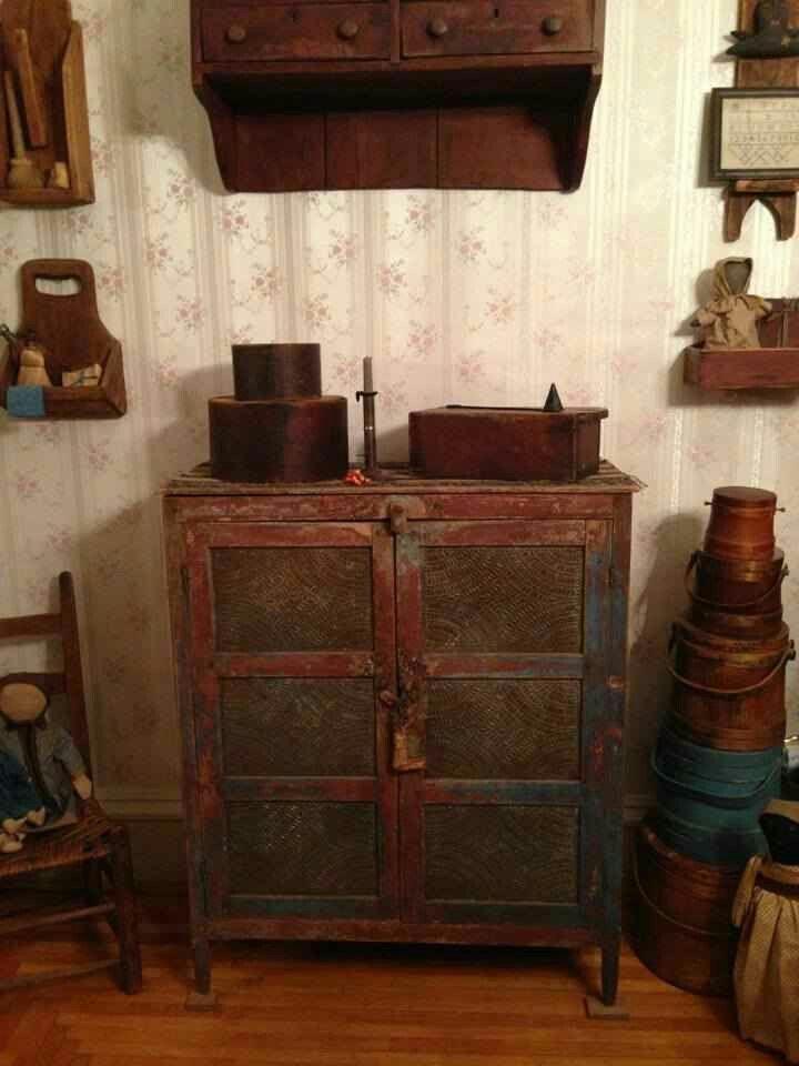 1000 Ideas About Primitive Kitchen Cabinets On Pinterest
