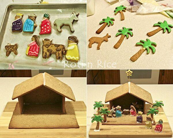 gingerbread nativity scene - Bing Images
