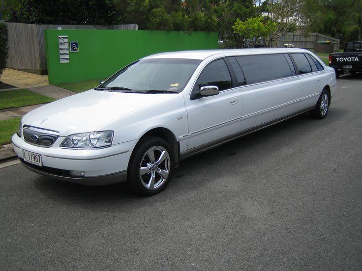 9 Seat White Stretch Fairlane Limousine  Brisbane, Gold & Sunshine Coast #LimousinesBrisbane #StretchLimosBrisbane #WeddingCarsBrisbane
