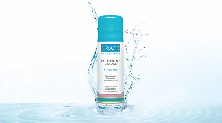 Uriage Eau Thermale a treatment water to moisturise, to relieve, to protect, to soften and to improve makeup wear!