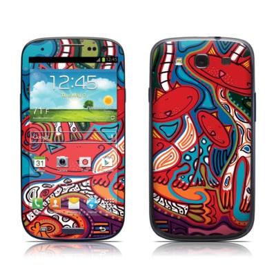 Samsung Galaxy S III Skin - Camo Cats by Toyism Art Movement