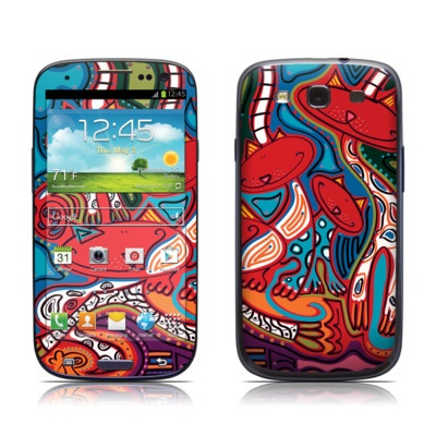 Samsung Galaxy S III Skin - Camo Cats by Toyism Art Movement