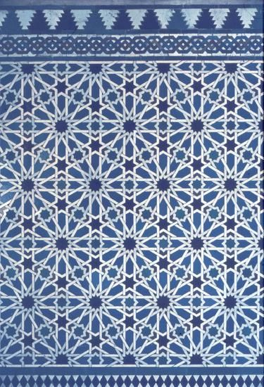 Perforation patterns: Islamic art, Seville