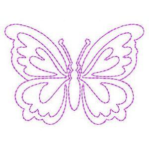 Mariposas Mariposas - Gratis Instant máquina del bordado Diseños