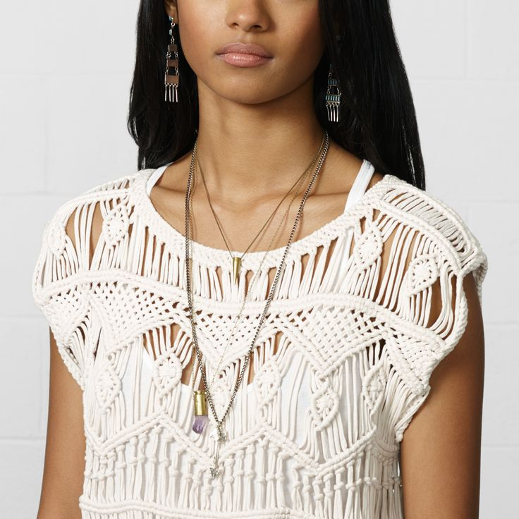 1358 best Macrame fashion & accesories images on Pinterest ...