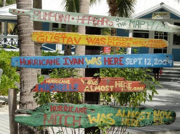 The photographer: Carol Brock of Penryn Behind the lens: At Rum Point on Grand Cayman, we came across this sign on a recent family visit to the island. The sign shows some history of hurricane activity for the islanders. Hurricane Ivan did some major damage to the island when it hit in 2004.