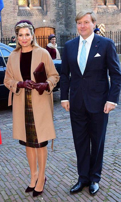King Willem -Alexander and Koningin Máxima. 29-11-2016
