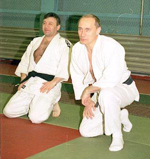 Аркадий Ротенберг и еще один парень