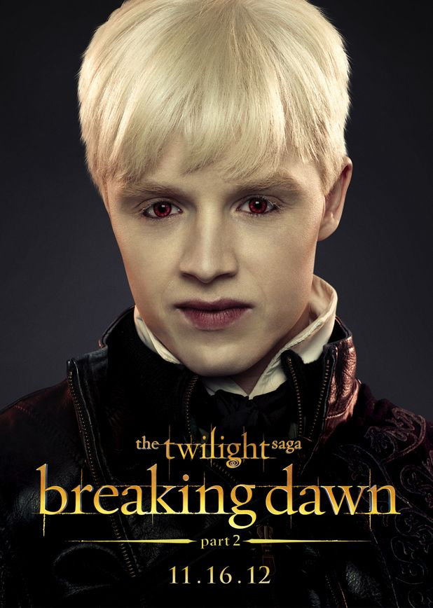 Breaking Dawn part 2 ~ Noel Fisher's Vladimir is a member of the ancient Romanian coven that formerly ruled the vampire world