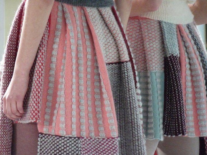 Liz Dyson. Jazmine Rocks skirts. Knitwear. Interned with Donna Karan, Giles Deacon  and Sophie Steller.