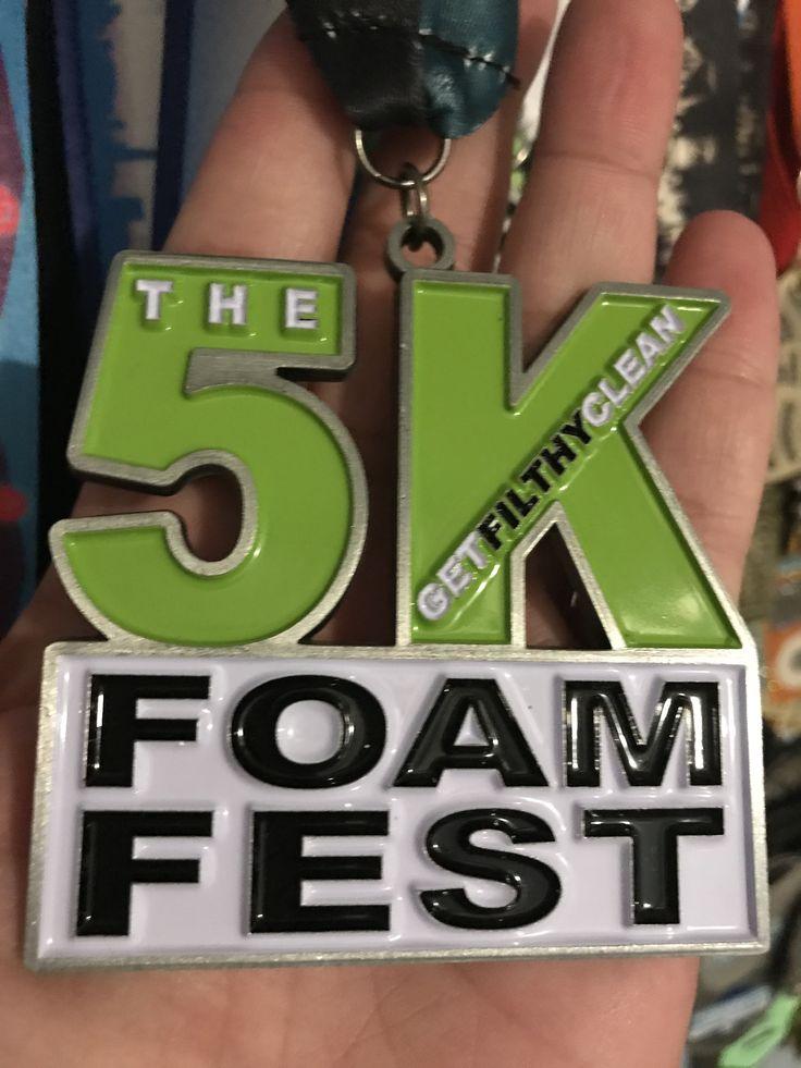 Foam Fest 5K  July 15, 2017 Toronto, ON #foamfest #blingjunkie