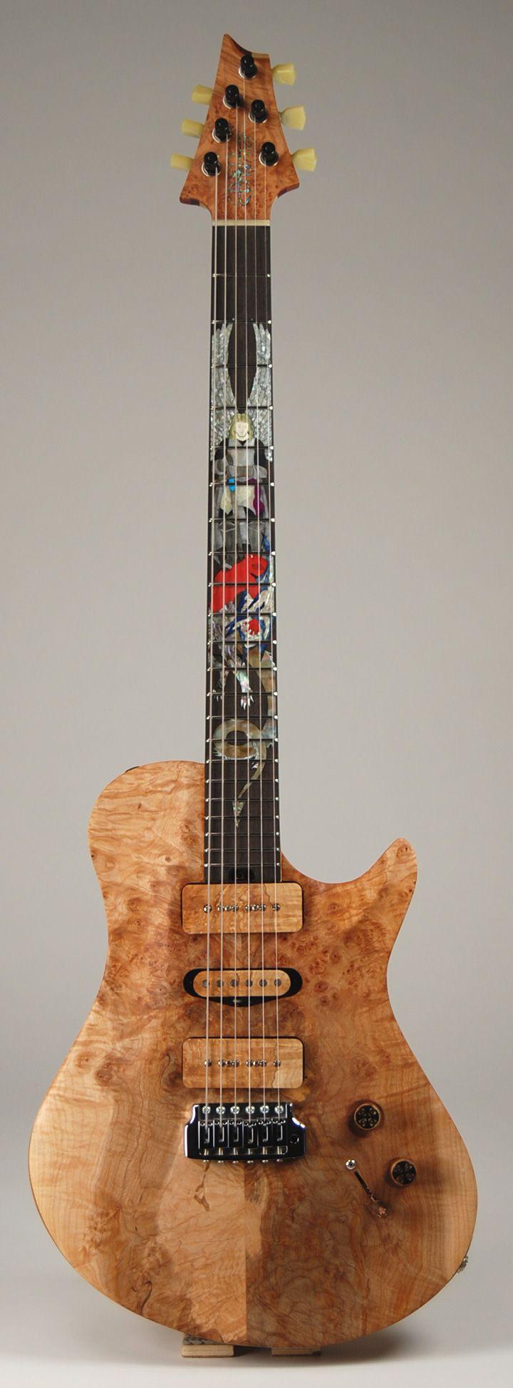 Warrior Custom Shop Rick Derringer Model Guitar Solid Body