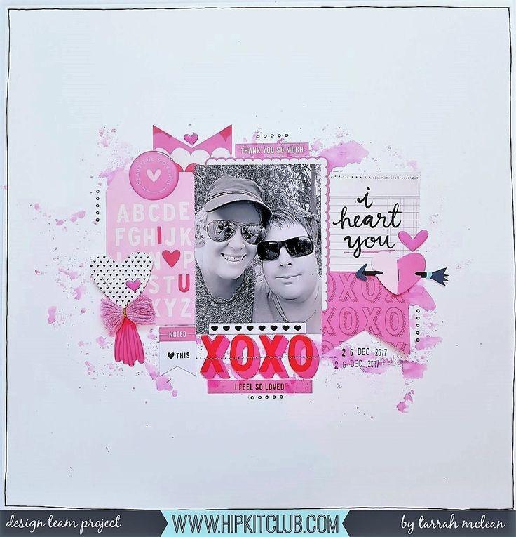 XOXO  #hipkitclub #january2018 #valentine #xoxo #iheartyou