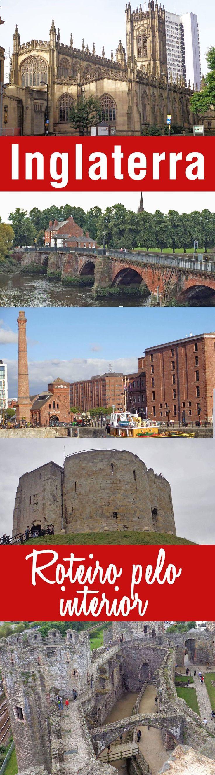Roteiro com 5 cidades pelo interior da Inglaterra partindo de Liverpool usando o trem como meio de transporte que é uma ótima opção de viajar pelo país.
