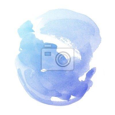 Fotobehang watercolour, watercolour, kunst - kleurrijke abstracte aquarel kunst kant verf op witte ✓ Makkelijke montage ✓ 100% ecologisch afgedrukt ✓ Bekijk de opinies van onze klanten!