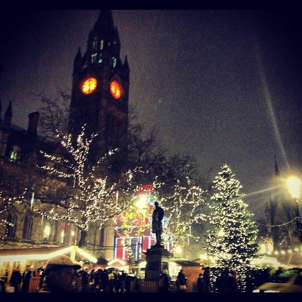 Manchester Christmas markets at Albert Square