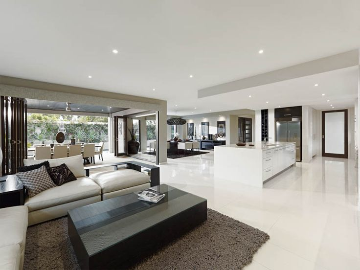 Open plan living designs ideas metricon house design - Open kitchen designs with living room ...