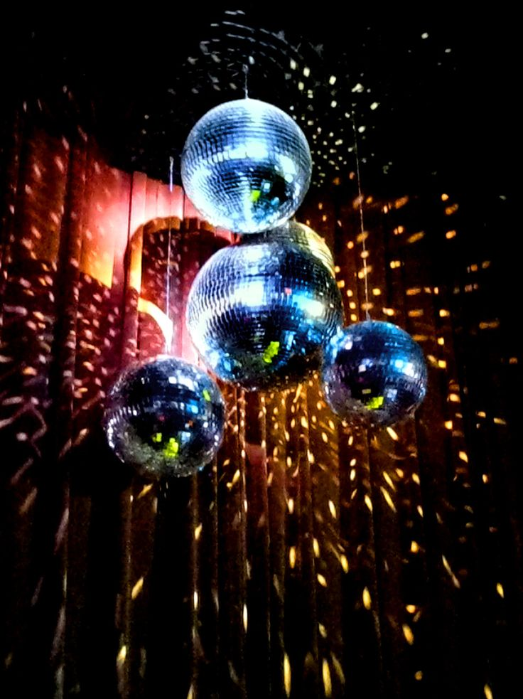 Tie Dye Disco Balls In 2019 Disco Theme Parties Disco
