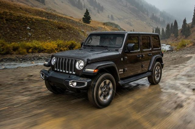 2019 Jeep Wrangler Unlimited Front Jeep Wrangler Unlimited