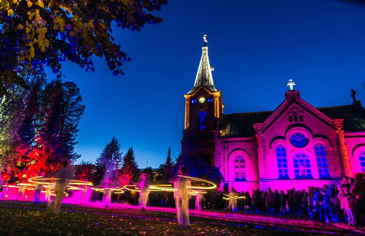 Jyväskylä, Finland – The story of how the city is using light and events as a tool for branding #‎IYL2015‬ #AIL2015