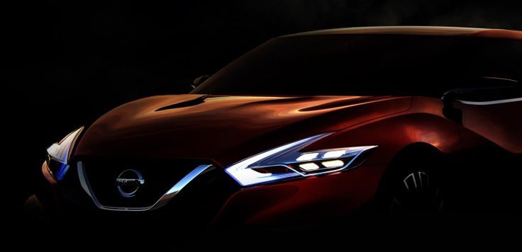 Nissan Sport Sedan Concept For Detroit Previews 2015 Maxima