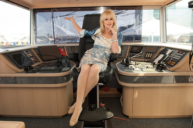 Viking Odin godmother, Joanna Lumley, takes the helm.