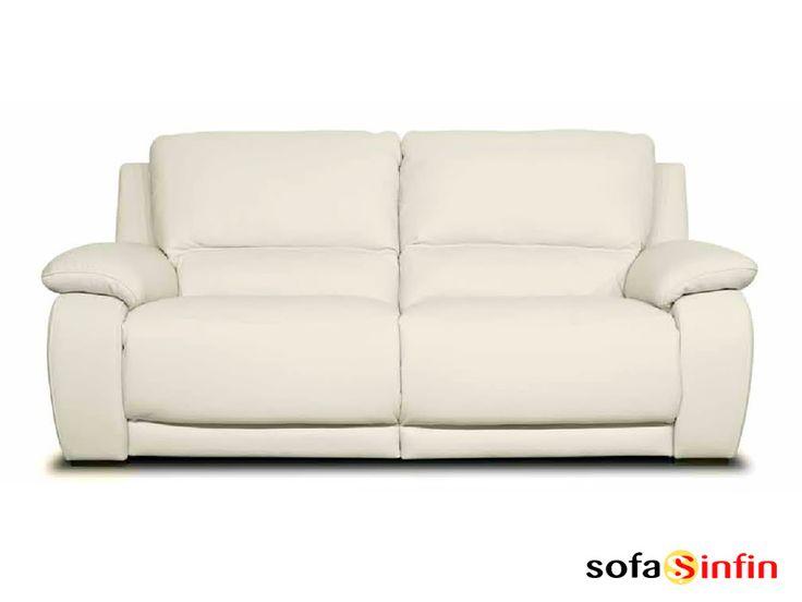 Sofá relax de 3 y 2 plazas modelo Maica fabricado por Losbu en Sofassinfin.es