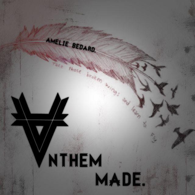 Montage (mine) Anthem Made. Kellin quinn <3