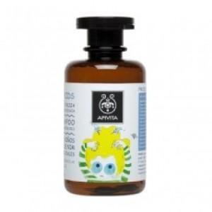 Apivita - Propoline Προληπτικό Σαμπουάν για ψείρες με neem oil - 250ml Ήπιο σύστημα επιφανειοδραστικών: καθαρίζει απαλά τα μαλλιά Λεμονοειδή από neem oil, αιθέρια έλαια tea tree, γεράνι, σιτρονέλλα: απωθούν τις ψείρες Λεβάντα: καταπραΰνει τον κνησμό και τους ερεθισμούς στο τριχωτό Αλόη: ενυδατώνει και περιποιείται τα μαλλιά Δενδρολίβανο: τονώνει τα μαλλιά Πρόπολη: έχει ήπια αντισηπτική και αντιοξειδωτική δράση