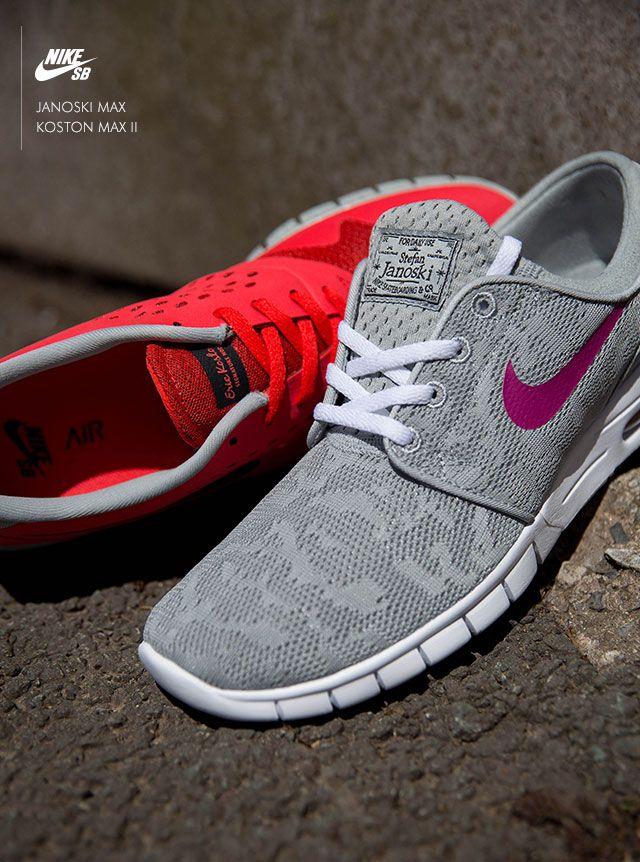 Nike SB Janoski Max Nike SB Koston Max II