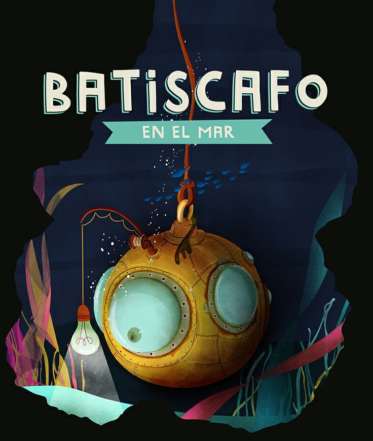 Batiscafo en el mar - 7 cuentos ilustrados [6-11 años]