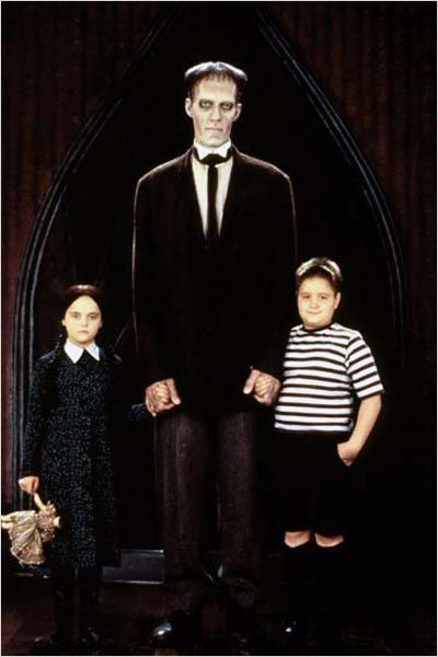 La Famille Addams : Photo Barry Sonnenfeld, Carel Struycken, Christina Ricci, Jimmy Workman