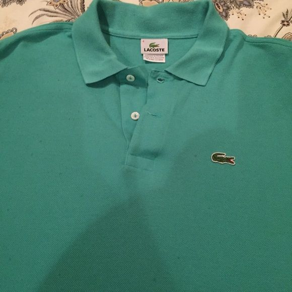 LACOSTE Mens polo shirt LACOSTE Mens polo. Excellent condition. Never worn Lacoste Shirts Polos