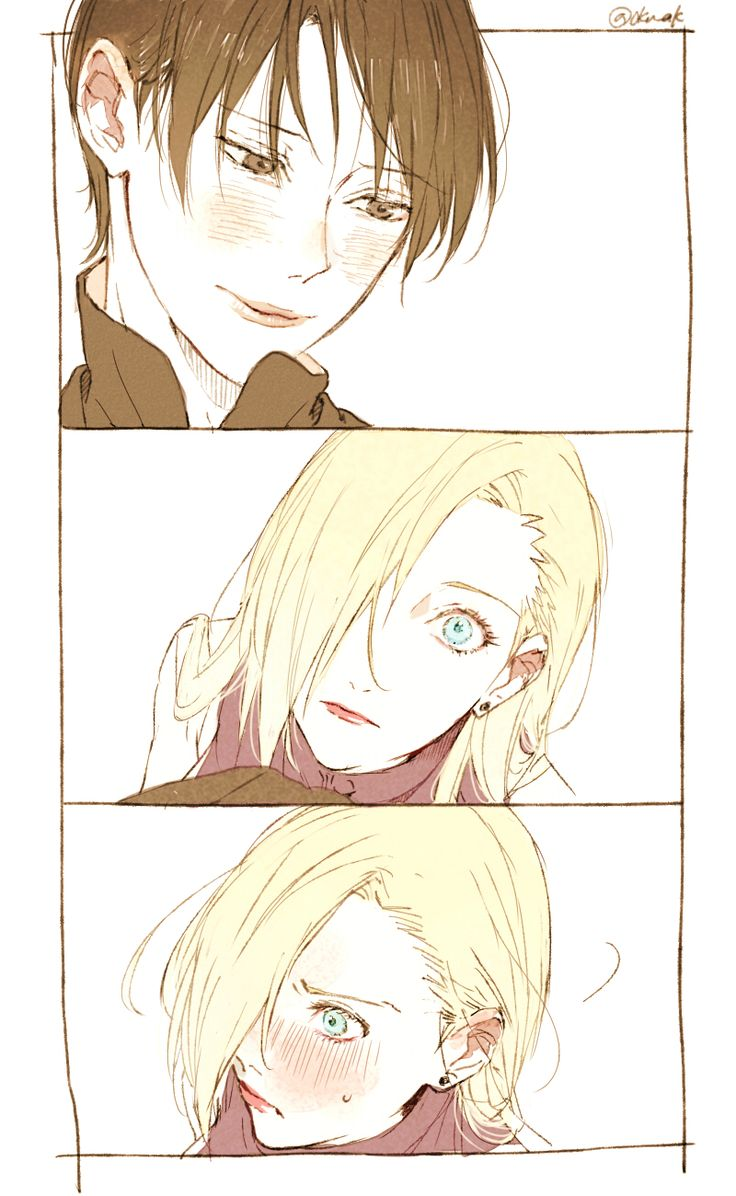I like that even though Ino is a major flirt Sai made her blush just by calling her gorgeous ^^