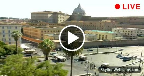 Live #webcam from #Rome. Click to watch the #Vatican too!