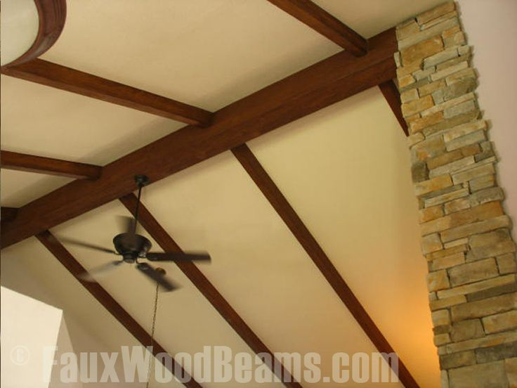 26 best decorative decorative beams images on pinterest for Faux wood ceiling planks