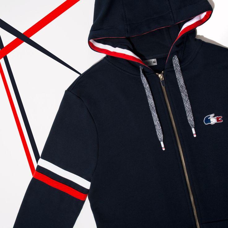 French sporting sweatshirt.
