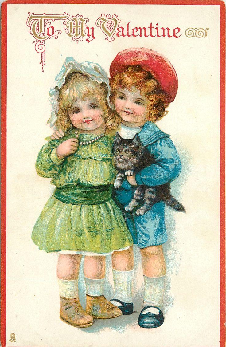 Старинные открытки о детях