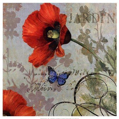 105 best papers floral 2 images on pinterest diy for Jardin wilson nice
