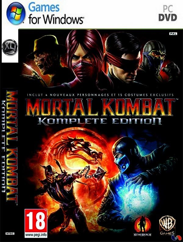 Mortal Kombat - Komplete Edition (BlackBox) Full ISO | ohgamegratis.blogspot.com